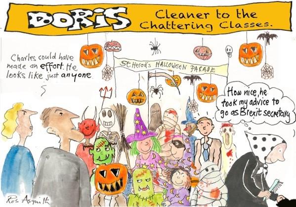 Doris Halloween