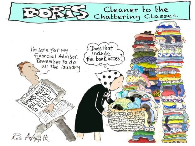 Doris and laundry
